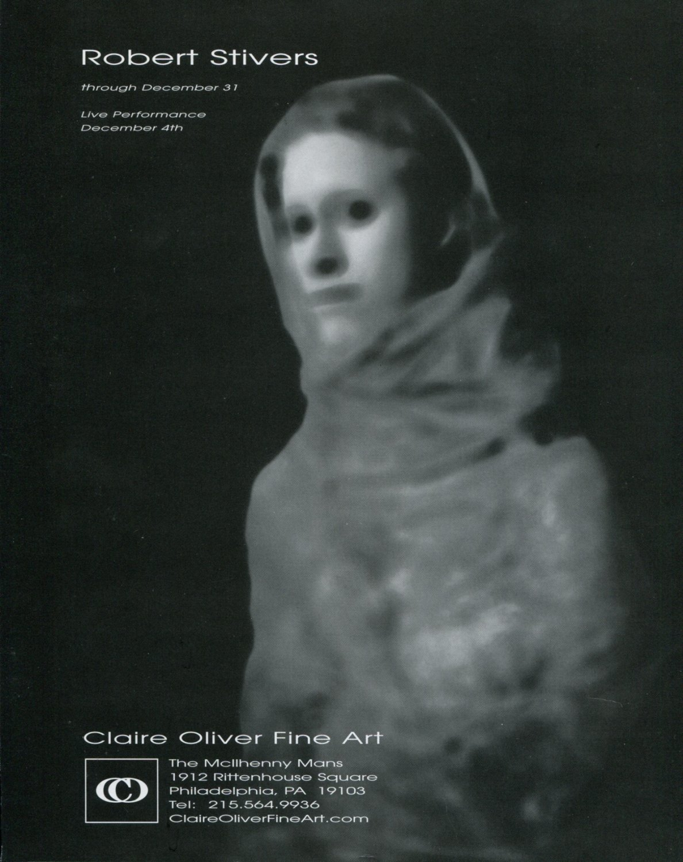 Robert Stivers 1997 Art Exhibition Ad Advert