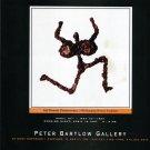 Heilman-C 1997 Art Exhibition Ad Advert Self-Portrait Perseverence