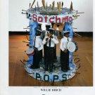 Sculptor Willie Birch Satchmo 1997 Art Ad Advert