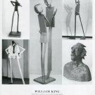 William King Aspects 1997 Art Exhibition Ad Advert