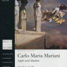 Carlo Maria Mariani Light and Shadow 2002 Art Exhibition Ad Advert