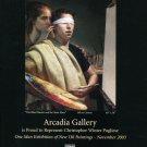 Christopher Winter Pugliese 2002 Art Exhibition Ad Advert