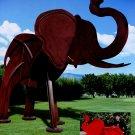 Fredrick Prescott 2002 Art Ad Advert Elephants