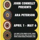 Ara Peterson 2006 Art Exhibition Ad Advert