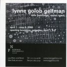 Lynne Golob Gelfman Resist/React 2006 Art Exhibition Ad Advert