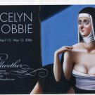 Jocelyn Hobbie 2006 Art Exhibition Ad Advert