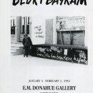 Bedri Baykam 1992 Art Exhibition Ad Advert