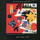 Eva Sayles 1992 Art Exhibition Ad Advert Abstract Gardens of the World #1