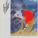 Erte Swept Away 1983 Art Ad Advert Advertisement
