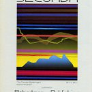 Secunda The Thunder Spoke Again 1983 Art Ad Advert Advertisement