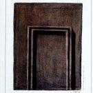 Gerson Leiber 2002 Art Exhibition Ad Advert Hedges & Labyrinths