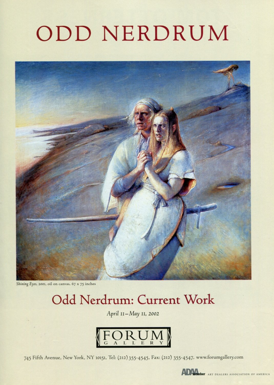 Odd Nerdrum Shining Eyes 2002 Art Exhibition Ad Advert