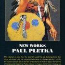 Paul Pletka 1992 Art Exhibition Ad Advert