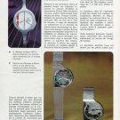 1972 L'Evolution de la Mode Horlogere Doit Etre Planifiee Swiss Magazine Article Bulova Watch Co.