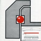 E. Piquerez S.A. Switzerland 1972 Swiss Ad Advert Schweiz Suisse Horology