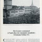 Erismann-Schinz SA Switzerland 1970 Swiss Magazine Article Horlogy Horlogerie Suisse Schweiz