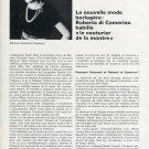 Universal Geneve Watch Company Roberta di Camerino 1970 Swiss Magazine Article Switzerland