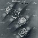 1952 Invicta Watch Company Switzerland Vintage 1952 Swiss Ad Suisse Advert Schweiz