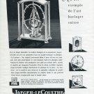 1952 Jaeger-LeCoultre Clock Company Switzerland 1952 Swiss Ad Advert Suisse La Lanterne Lantern