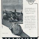 1952 Marvin Watch Company Switzerland Vintage 1952 Swiss Ad Suisse Advert Schweiz