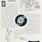 1952 Titus Watch Company Paul Ditisheim SA 1952 Swiss Ad Suisse Advert Solvil Switzerland