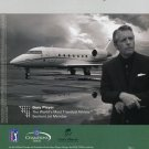 Sentient Jets Ad Gary Player Golf PGA Tour Magazine Ad Advert Advertisement