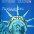Phillips Petroleum Company Statue of Liberty Phillips Driscopipe 1993 Ad Advert Lady Liberty