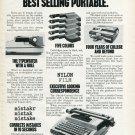 1977 Smith-Corona Corporation Typewriter Advert SCM Corporation 1977 Magazine Ad Advert