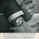 1977 Rolex Watch Company Jerry Pate Golf U.S. Open Vintage 1977 Ad Advert
