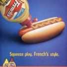 French's Mustard Official Mustard of New York Yankees Baseball 2003 Ad Advert Reckitt Benckiser Inc.