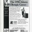 York Air Conditioning 1996 Olympic Games Atlanta 1996 Magazine Ad Advertisement