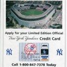 1996 New York Yankees MBNA America Bank 1996 Magazine Ad Advertisement NY Yankees Baseball