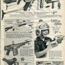 1967 Ad Lost in Space Helmet Ray Gun Toy Vintage 1967 Ad Advertisement Secret Agent Arsenal Advert