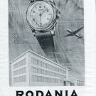 1952 Rodania Watch Company Grenchen Switzerland Rodana Watch Co. 1952 Swiss Ad Suisse Advert Schweiz