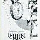 1947 Heuer Watch Company Ed Heuer & Co Switzerland Vintage 1947 Swiss Ad Advert Suisse Schweiz