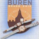 1947 Buren Watch Company Buren SA Switzerland Vintage 1947 Swiss Ad Advert Suisse Schweiz Suiza