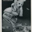 1946 Fortis Watch Company Fortissimo Switzerland Vintage 1946 Swiss Ad Advert Suisse Schweiz Suiza