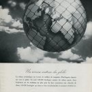 1946 Omega Watch Company Switzerland Vintage 1946 Swiss Ad Advert Suisse Suiza Schweiz