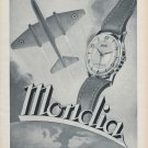 1953 Mondia Watch Company Switzerland Vintage 1953 Swiss Ad Advert Suisse Suiza Schweiz