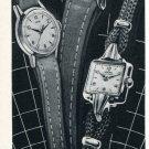 1953 Dogma Watch Company Arthur Dorsaz & Co. Switzerland Vintage 1953 Swiss Ad Advert Suisse Schweiz