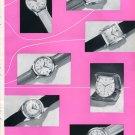 1953 Swiss Watch Fair Basel Jaeger-LeCoultre Heuer Leonidas Eberhard Universal Geneve Switzerland