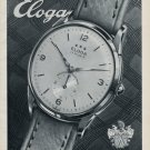 1953 Eloga Watch Company Eloga SA Switzerland Vintage 1953 Swiss Ad Advert Suiza Suisse Schweiz