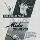 1946 Mido Watch Company Mido Multifort Watch Ad Advert 1946 Swiss Ad Suisse Schweiz Suiza