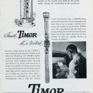 1947 Timor Watch Company Trust Timor It's Tested Ad Advert Vintage 1947 Swiss Ad Suisse Suiza