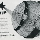 1948 Aster Watch Company La Champagne SA Switzerland Vintage 1948 Swiss Ad Advert Suisse