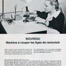 1969 Fimecor Fine Mecanique SA Switzerland Swiss Magazine Ad Advert Suisse Horology 1960's