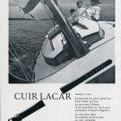 1969 Lacar Max Gimmel SA Vintage Swiss Magazine Print Ad Advert Switzerland Suisse Horology