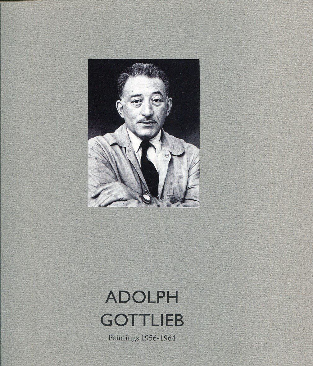 Adolph Gottlieb Paintings 1956-1964 1996 Art Exhibition Book with Color Plates Knoedler & Company