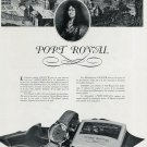 Original 1956 Zenith Watch Company Zenith Port Royal Watch Ad Publicite Swiss Print Ad Suisse