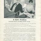 Original 1905 Grape-Nuts Postum Co Battle Creek Michigan Vintage Early 1900's Print Ad Advert